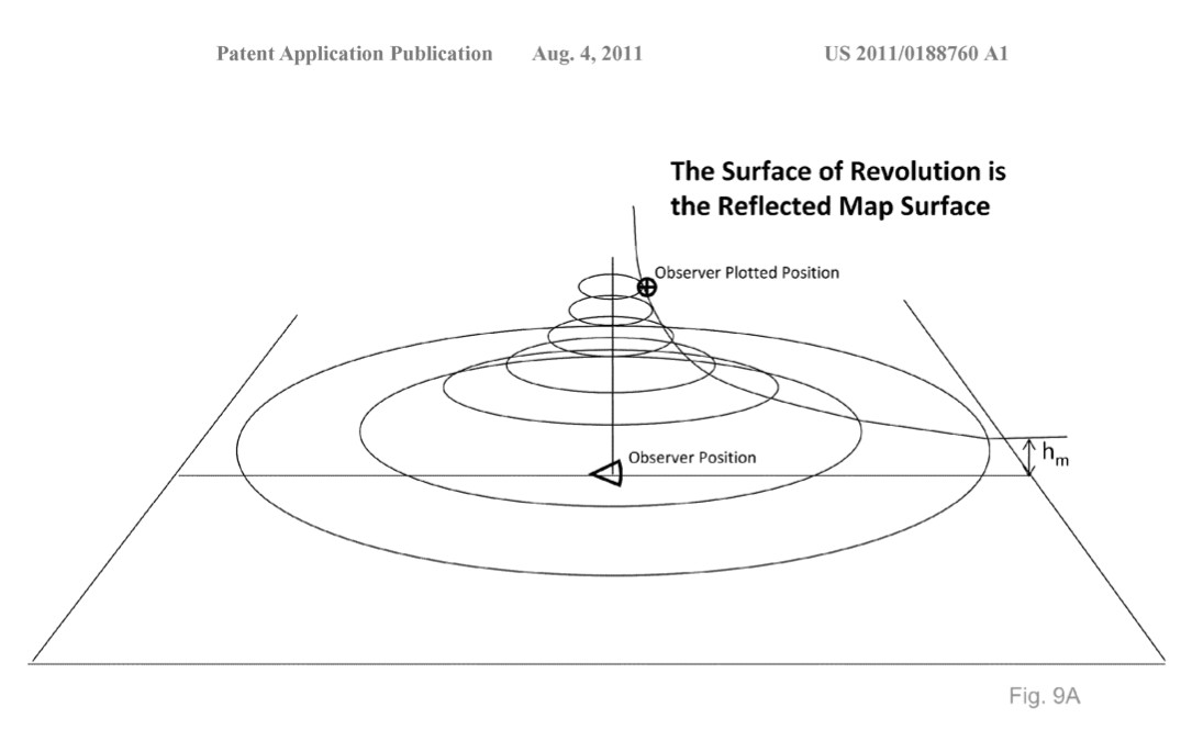 Surface of Revolution is the Reflected Map Surface